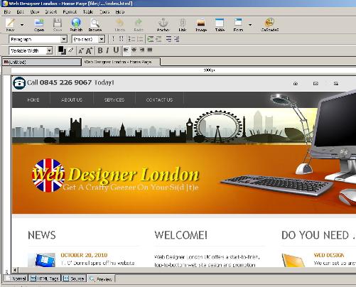 Adobe Dreamweaver alternative screenshot